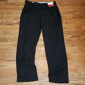 Louis Raphael ROSSO Pants  36X34 LUXE TWILL Black